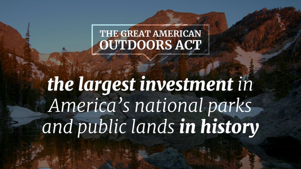 This is the most significant conservation accomplishment since the presidency of Theodore Roosevelt!