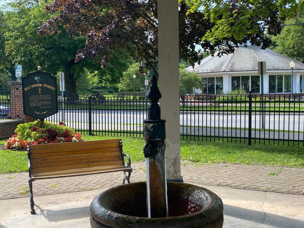 RT @LtGovHochulNY: A city park in Paris? Guess again. It's downtown Saratoga Springs!