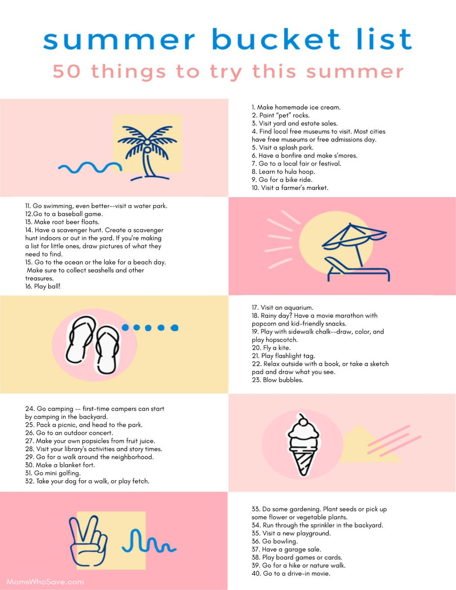 Check Out Our Summer Bucket List for Kids + a Free Printable  >>   #printables #summer #free #printables #kids