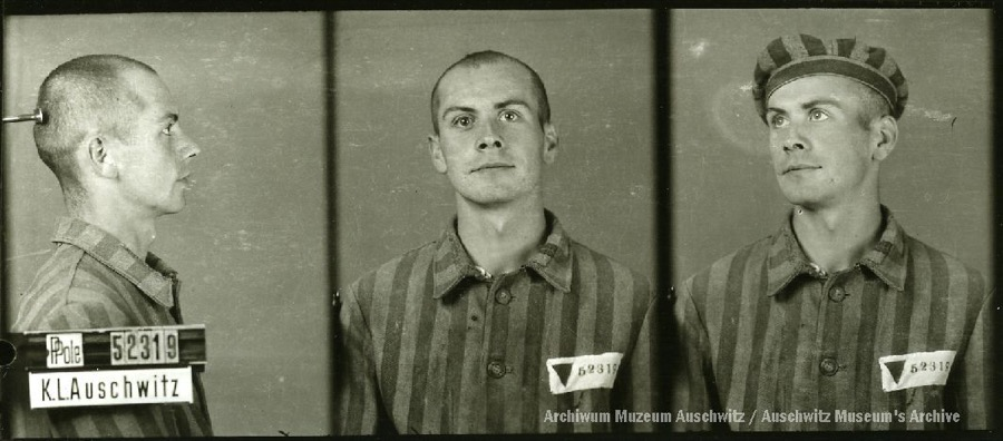 10 August 1920 | 100 yers ago Pole Tadeusz Sadowiński ws born in Krakow. A glazier.  In #Auschwitz from 25 July 1942. No. 52319 He perished in the camp on 30 August 1942.