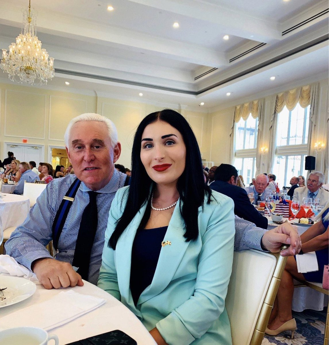 Congratulations to Laura Loomer for Congress  endorsed by @RepMattGaetz today at the GOP luncheon with @RogerStone Florida Vote for Laura Loomer Primary's are important Aug 18