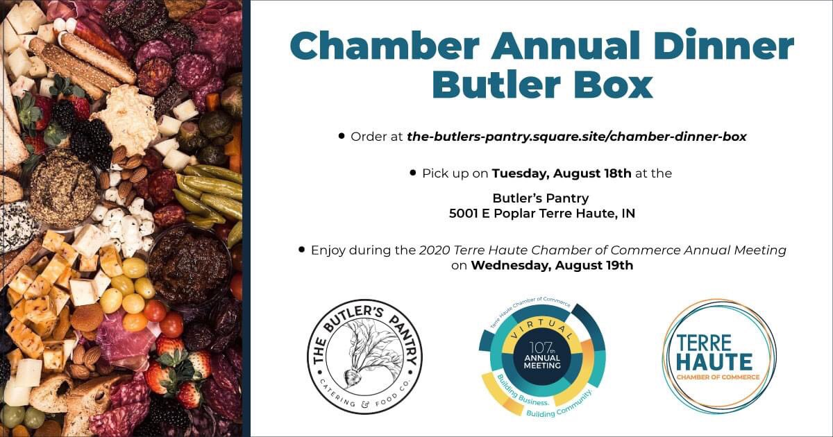 Do you like cheese? Do you like snacks? Do you like to support small business? Then we have just the thing for you!!! Check out the #butlerbox created by The Butler's Pantry for our VIRTUAL Annual Meeting on @wthitv! Order and tune in August 19. #eatlocal #supportlocal
