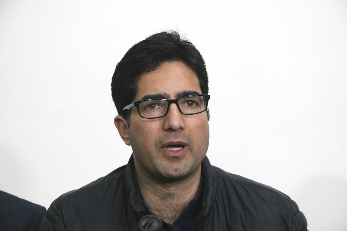 Former IAS officer turned politician, #ShahFaesal (@shahfaesal) is likely to join back administration after he was conveyed by authorities that his resignation has not still been accepted, top sources said.  Photo: IANS (File)