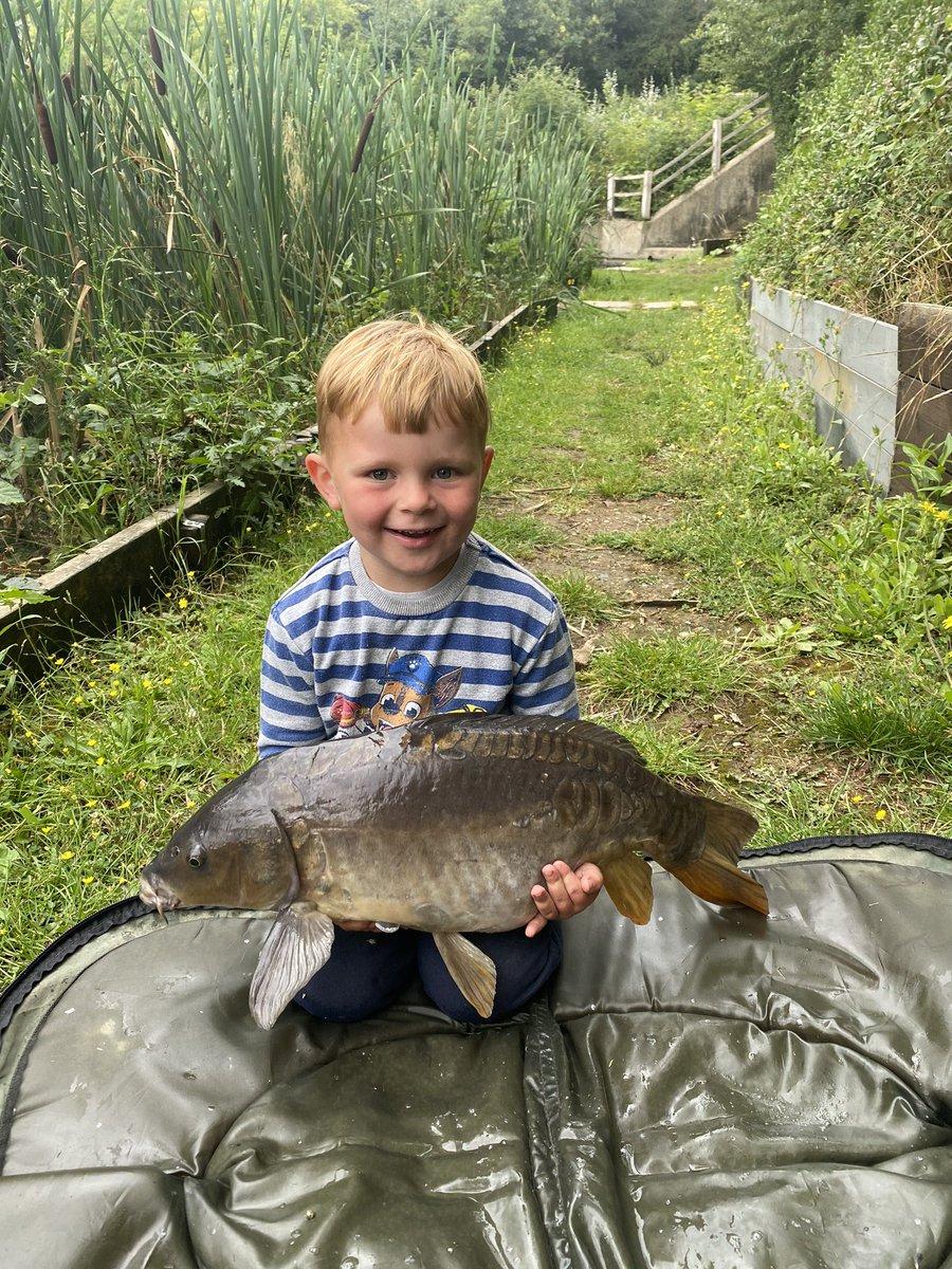 Boys first time carp fishing he <b>Love</b>d it and smashed it @CarpFishingUK_  #carpfishing #hooked