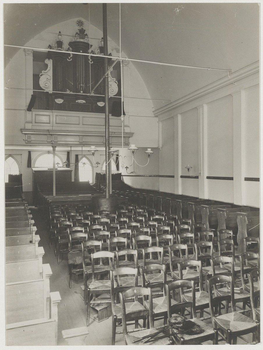 test Twitter Media - 1919. #Haarlem. #Kerk (mij onbekend geweest)  Klein Heiligland 40. Interieur Gereformeerde kerk.   foto's: Werf, R. van der https://t.co/SgWIPxdjY5