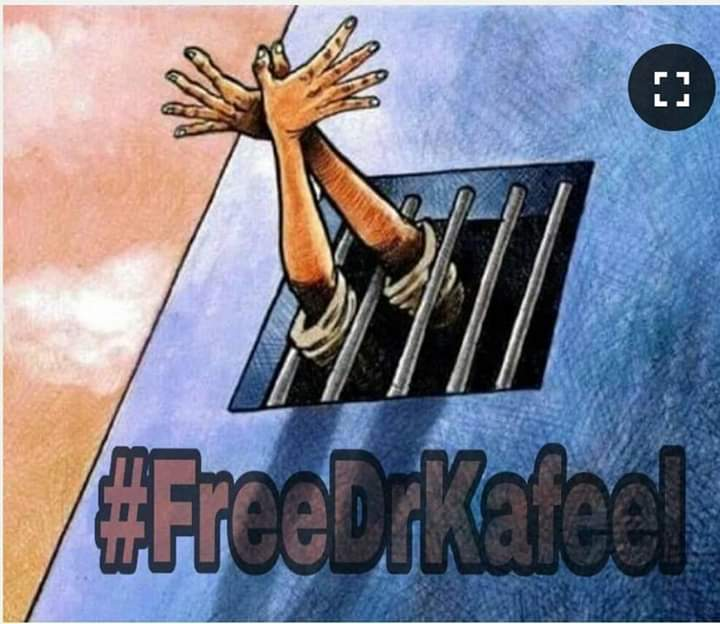 No Criminal Records❌ No FIR ❌ No Fraudulent activities❌ Never did any crime❌ Never involved in any anti national activities ❌  But he involved in 👇 Serving the Nation✔️ Saving the infants✔️ Saving Constitution✔️ Saving Secularism✔️ Saving humanity✔️ #DrKafeelMustBeReleased