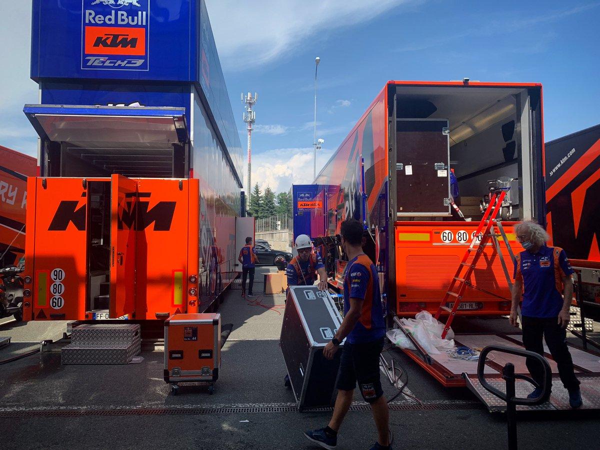 test Twitter Media - Destination 🇦🇹✊🏻  #KTM #Tech3 @MotoGP #MotoGP #MO88 #IL27 #Next #Packing https://t.co/gPyp40XXzB