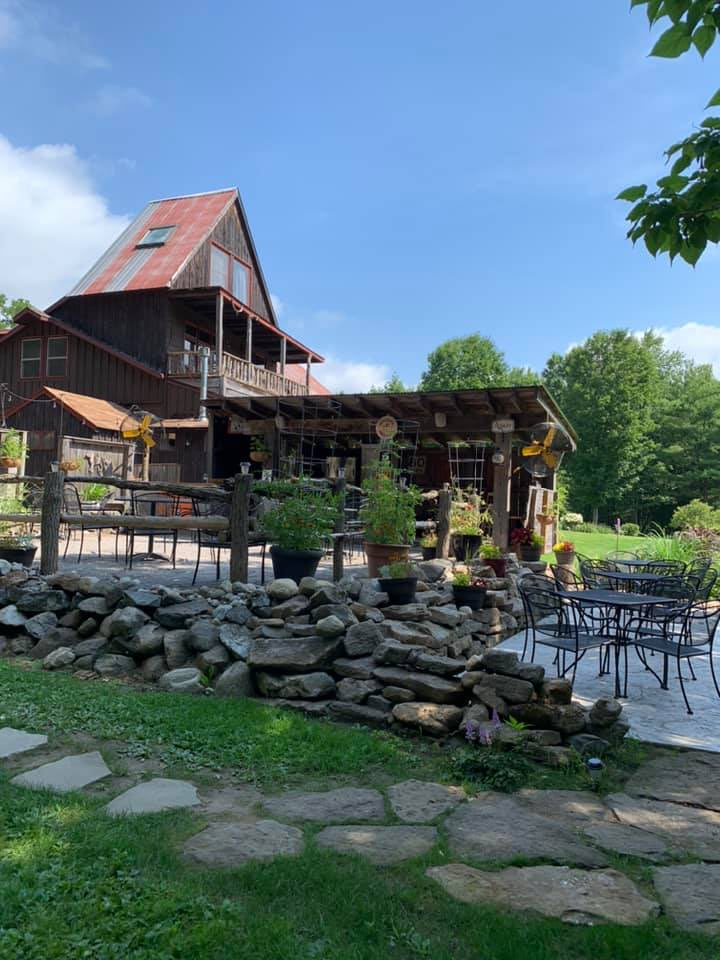 Visit The @CocknBullNY! Steaks, seafood, poultry, specials, music, patio, gardens, great wine and a hearthside bar all in an 1850's post 'n beam barn!  Address: 5342 Parkis Mills Rd in Galway, NY Phone: (518) 882-6962 Web: