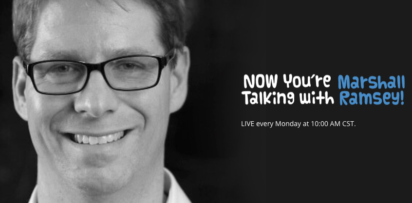 NOW YOU'RE TALKING W/ MARSHALL RAMSEY: Join us on the next Now You're Talking with Marshall Ramsey. Monday at 10 only on MPB Think Radio!!!  #MPBOnline #Mississippi