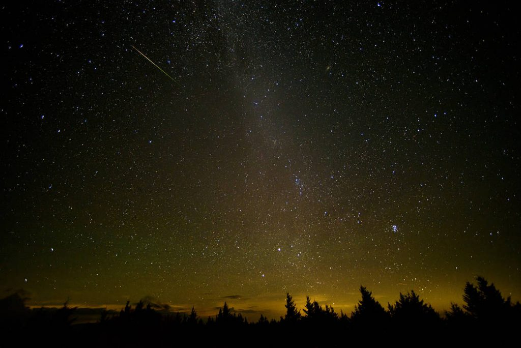 Get up early for one of the top sky shows of the year. Head to Twin Lakes Golf Course in Clifton before dawn on Wednesday to see the peak of this year's Perseid meteor shower. Social distancing applies during this program. Details at  📷: NASA/Bill Ingalls