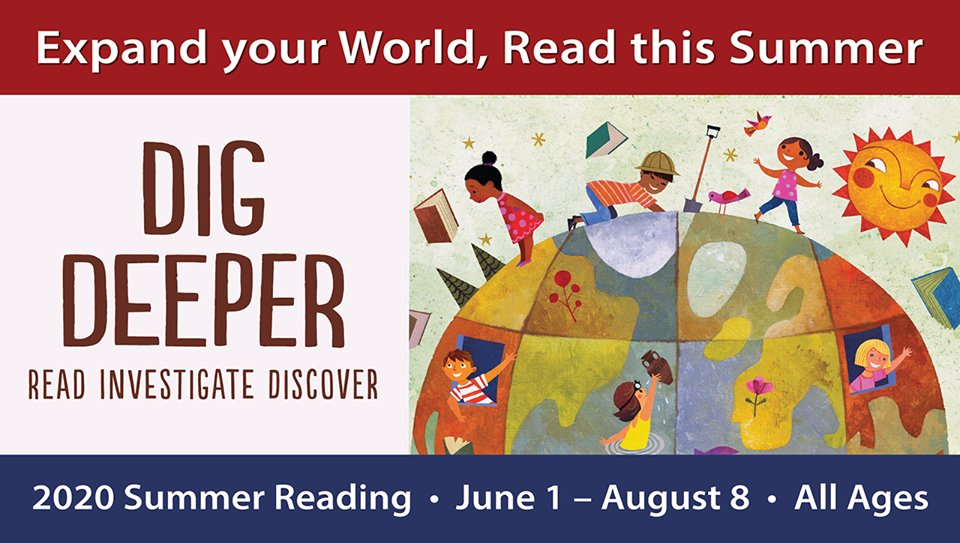 If you have used a paper reading log to participate in our Summer Reading Program, please turn in your log(s), by taking a photo and emailing (instructions are on the logs) or by dropping off at a book drop on Friday, Aug 14. Thank you! #summeratyourlibrary #casummerreading
