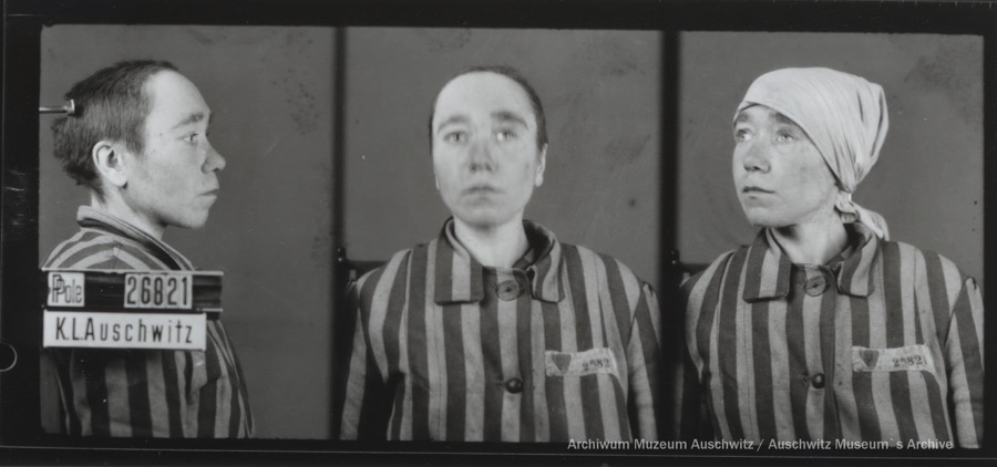 10 August 1910 | Polish woman Antonina Bogdanowic was born in Mokre. A farm worker.  In #Auschwitz from 13 December 1942 (deported during pacification of Zamość Region) No. 26821 She perished in the camp on 18 March 1943.