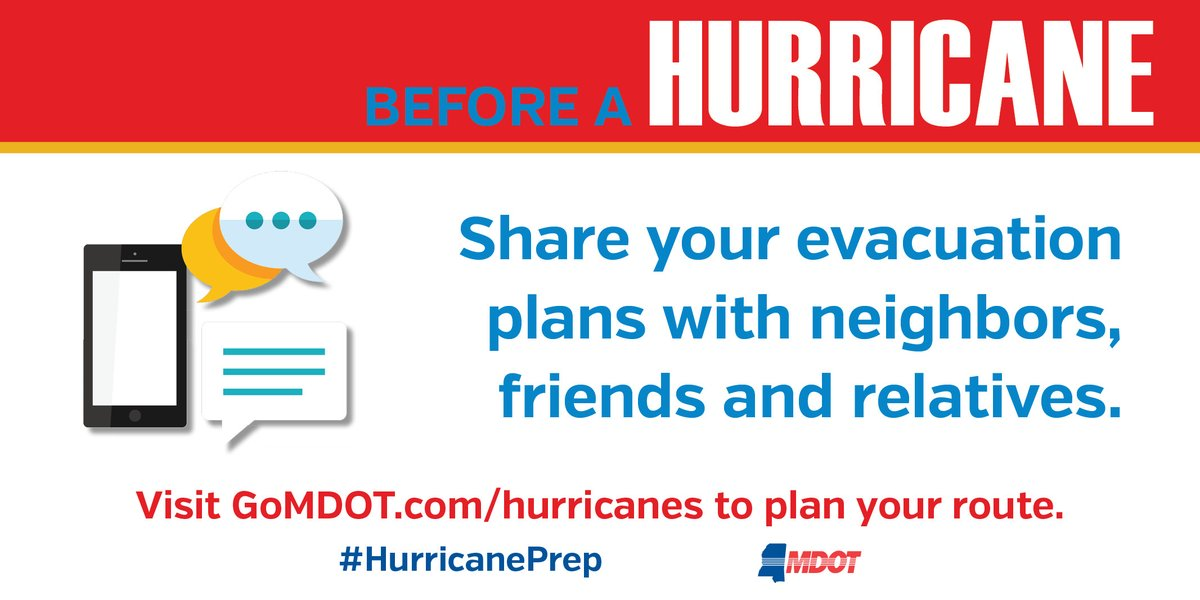 We are now in peak Atlantic hurricane season. Don't wait — plan your hurricane evacuation route today, not when a storm is on its way.   Learn more at .