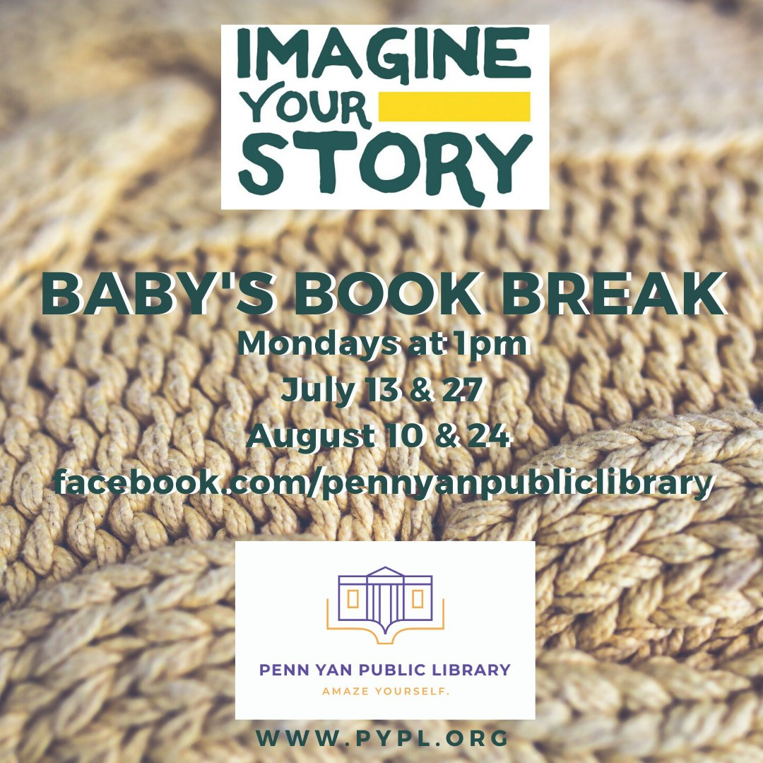 Take five for a board book and a song. The fun starts at 1pm on our Facebook page! #LibrariesFromHome #ImagineYourStory