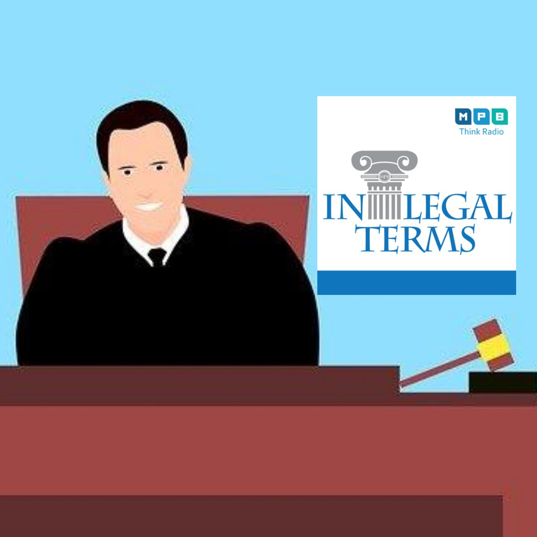 IN LEGAL TERMS: Tuesday our guest will be Chancery Court Judge Troy Odom. Email the show: legalterms@mpbonline.org and listen to the broadcast at 10 am. Find the podcast later on the website   #MPBOnline #MPB50