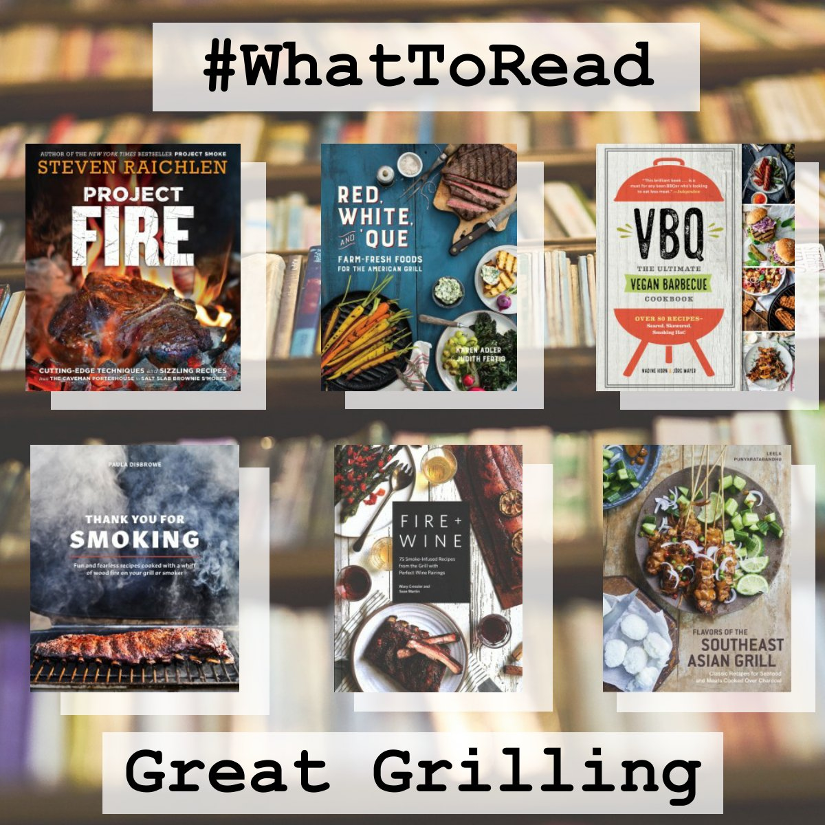 Check out one of these great titles to up your marinating, grilling, and smoking game. Click the link to see more recommended titles and to place a hold for pickup. #WhatToRead #GrillandChill