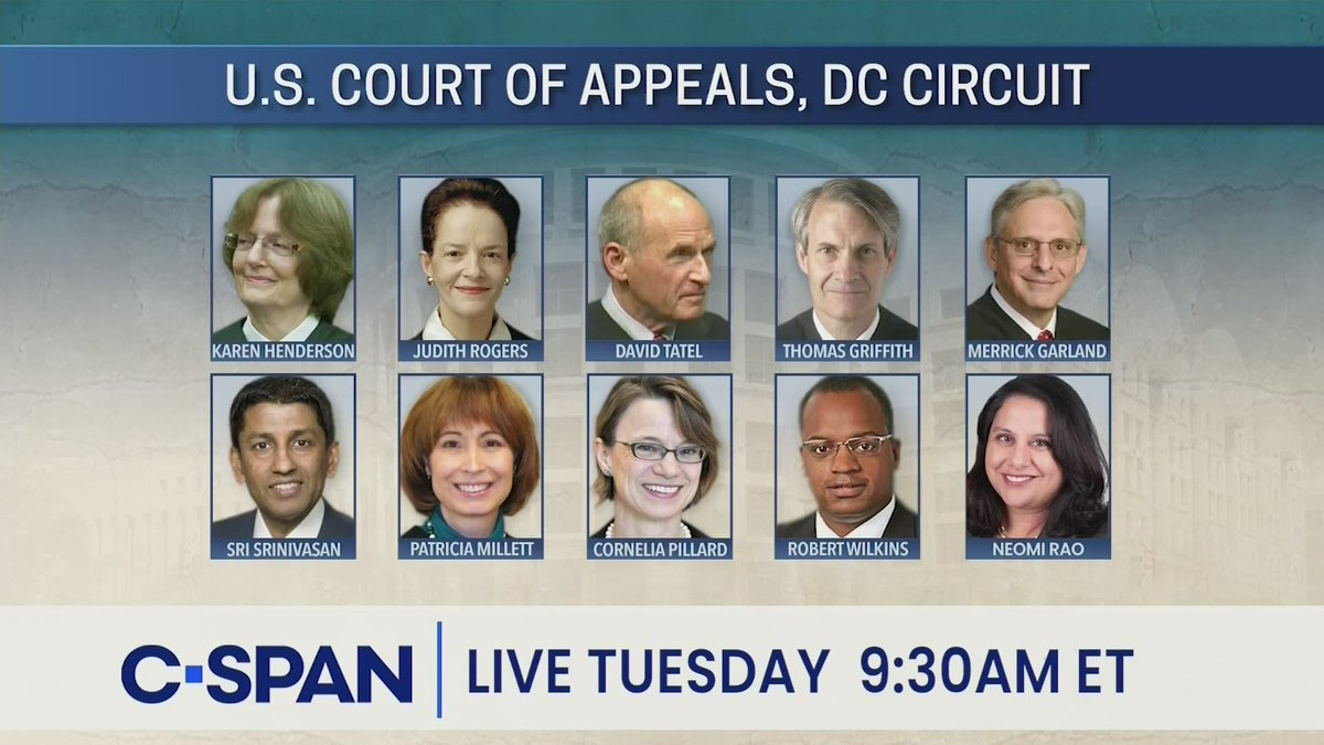 TUESDAY: U.S. Court of Appeals, DC Circuit Oral Argument Michael Flynn Perjury Dismissal Case Rehearing - LIVE at 9:30am ET on C-SPAN