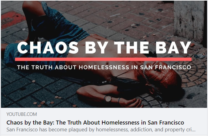 Homelessness has never been worse in California. The Sacramento/Yolo region has seen an explosion of human suffering and quality of life crimes as well. Drug addiction, mental illness and deeply flawed policy choices are driving the epidemic.