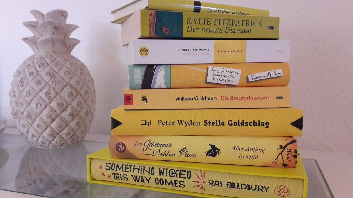 My 'yellow books'  @sandstonepress #SummerChallenge #number10