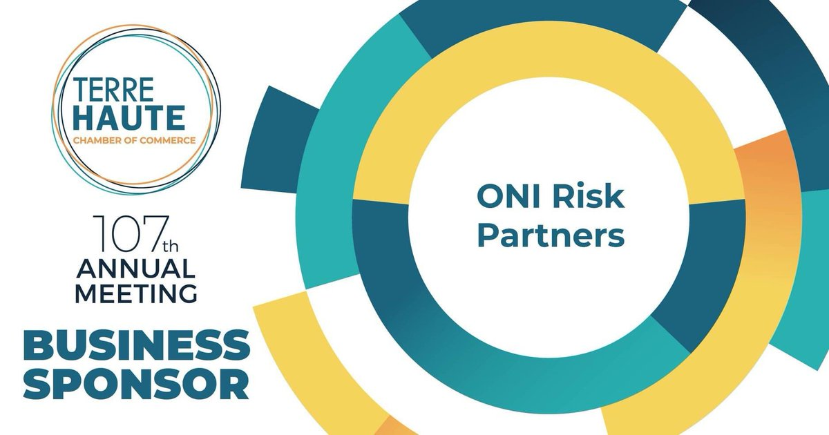 Watch the Virtual Chamber Annual Meeting, August 19 at 7:30pm on WTHI-TV! Special thanks to ONI Risk Partners, An EPIC Company for your support as a Business Sponsor. 📝 #ChamberAnnualMeeting #THAnnualMeeting #VirtualAnnualMeeting