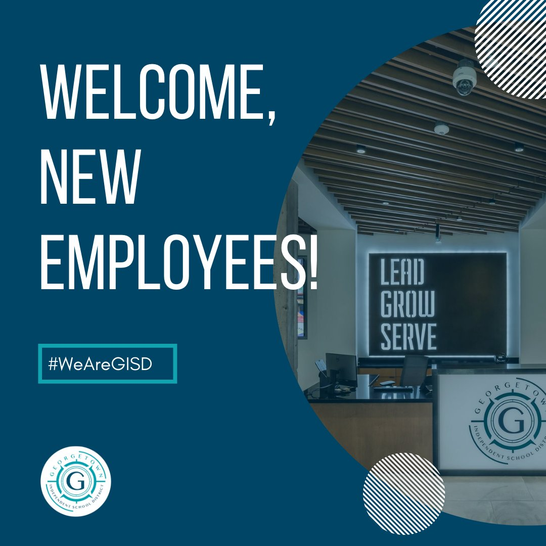 We're excited to give a warm welcome to all of our new GISD employees! During today's induction activities, they'll hear a welcome message from Dr. @FredBrent06 & enjoy a panel on our vision, mission, beliefs, learning profile, & strategic framework.   We're glad you're here! 👋