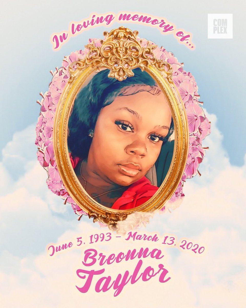It's been 150 days since #BreonnaTaylor was shot and killed in her Louisville apartment.  We will not forget. 🕊