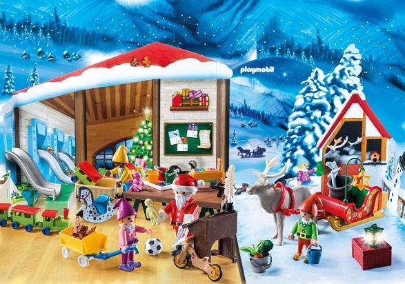 PLAYMOBIL Santa's Workshop Advent Calendar $21.09