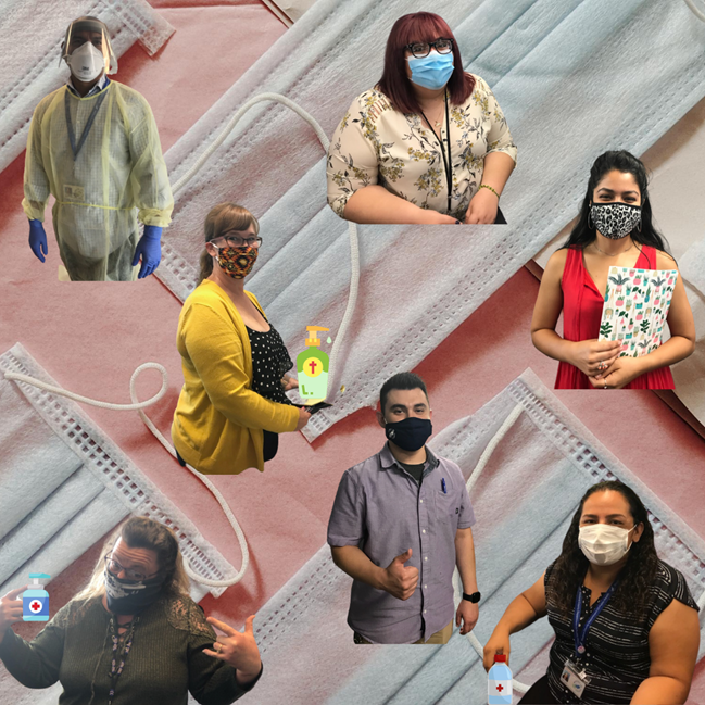 Masks up, Madera County! We're back at it again with another #MaskMonday featuring our staff and their awesome face masks.