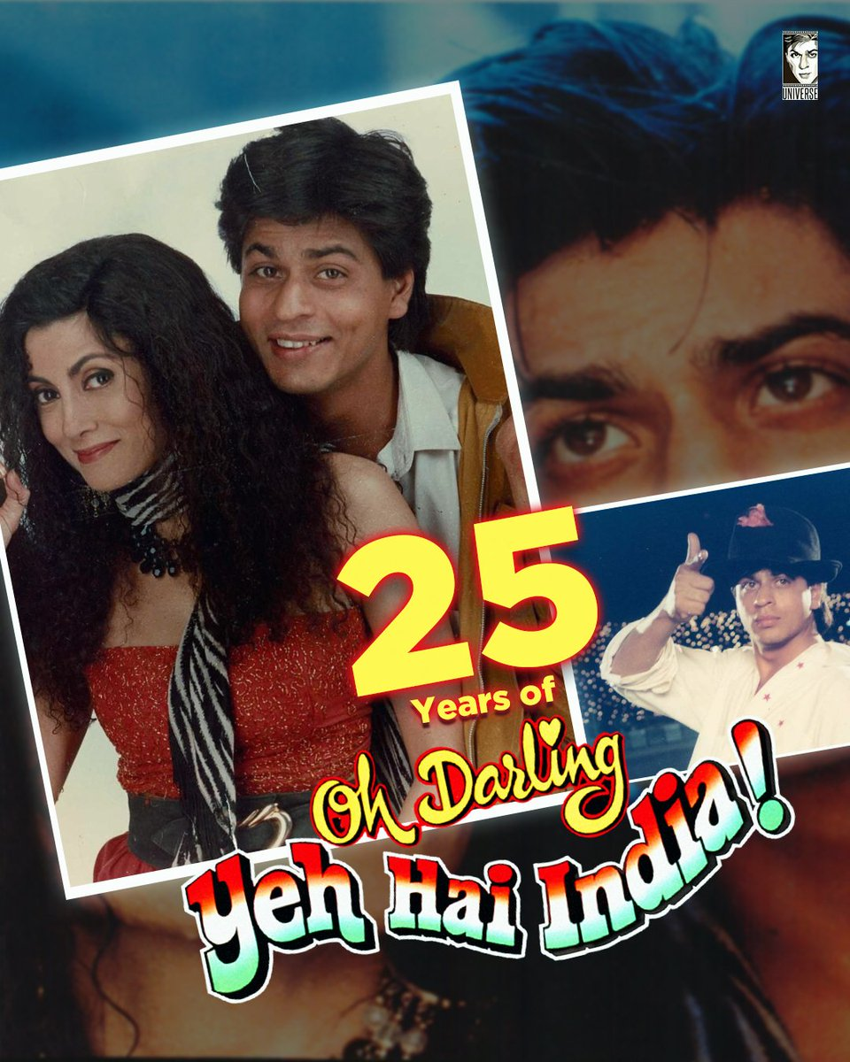Celebrating #25YearsOfODYHI & #14YearsOfKANK ✨ SRK plays Hero in ODYHI & did proper justice to His name when it comes to saving the country!  In KANK Dev aka SRK shows that we should choose love over a relationship based on compromise!