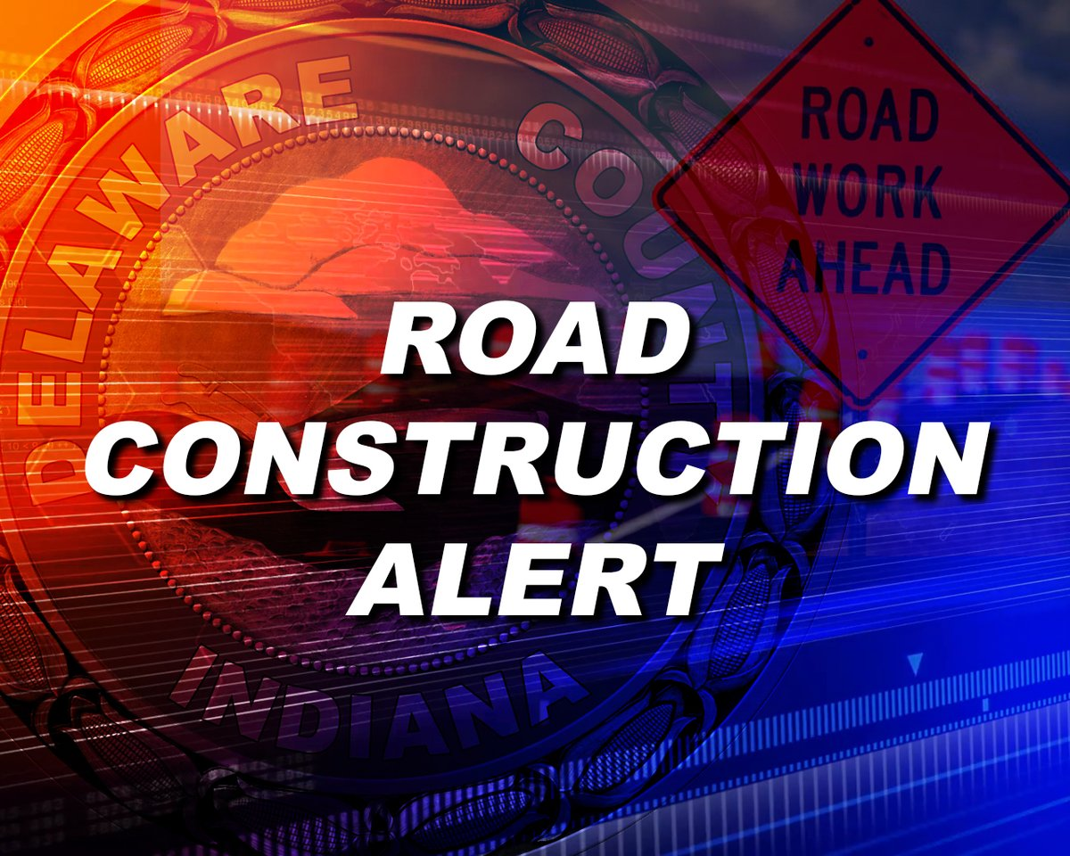 County Road 350 North between Morrison Rd and Nebo Rd will be closed to through traffic for paving this week from Tuesday the 11th through Thursday the 13th. Only local residents and emergency traffic will be allowed access.