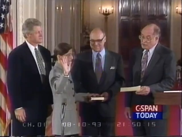 On this day 27 years ago, Ruth Bader Ginsburg was sworn in as the newest SCOTUS Justice.  It's not just Trump on the ballot in November, it is an entire generation's worth of Supreme Court rulings.