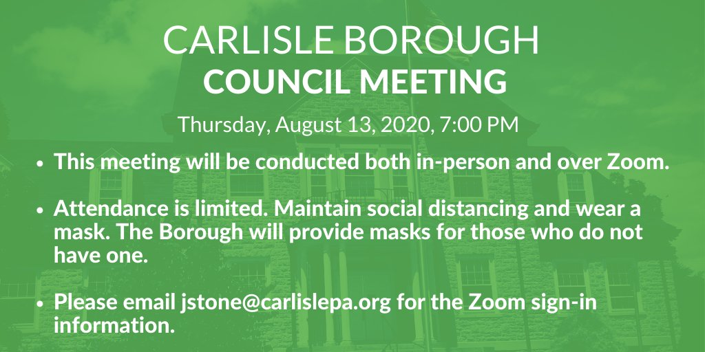 There was a typo on the graphic in the original tweet. The meeting is on Thursday. Apologies for the error!