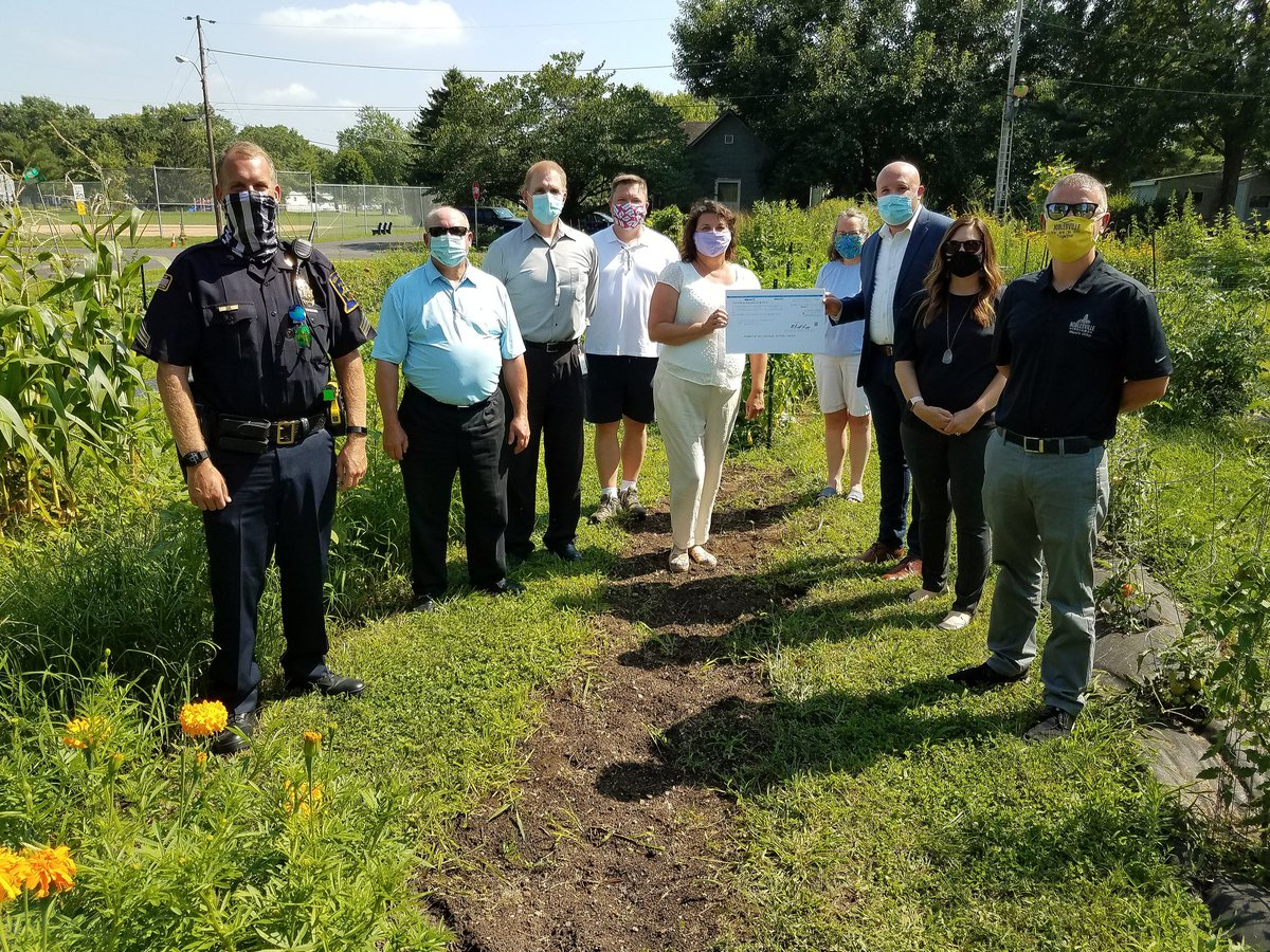 The City of #Noblesville is excited to announce we received a $2,500 grant from @walmartgiving for community gardens across from Southside Park.  #BetterTogether, #WalmartGiving, #Walmart