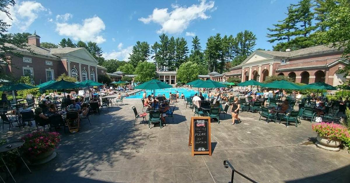 Beat the heat wave at one of Saratoga's beautiful public pools: