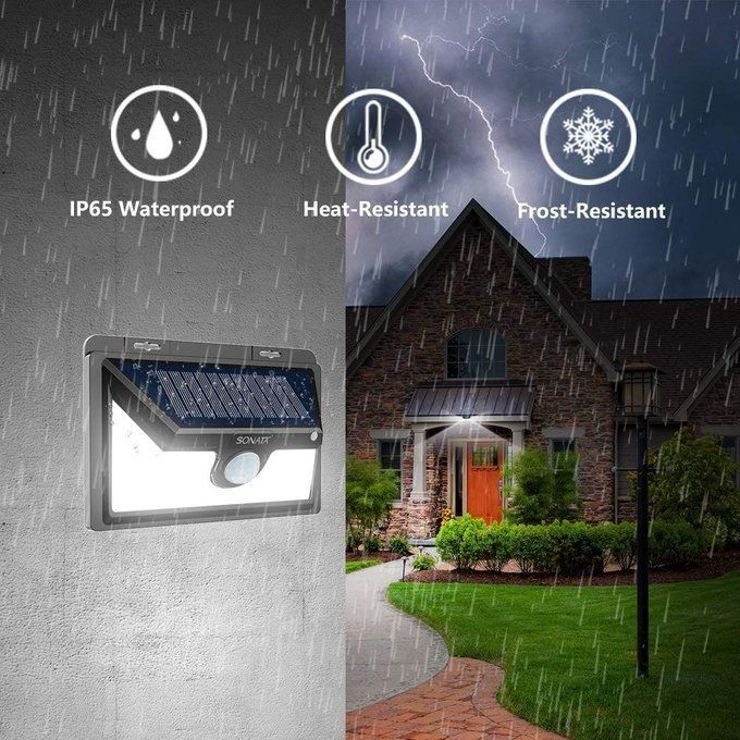 2 Pack of Solar Motion Sensor Lights, $15.49!  Over 50% off with code; XGBAGOUQ