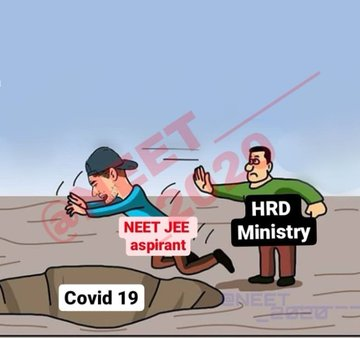 This is the current scenario. We students can change it. Tweet as much as possible. Share it. Raise your voice against this decision. @DrRPNishank #PLEASEPOSTPONEJEE_NEET   RT if you agree.