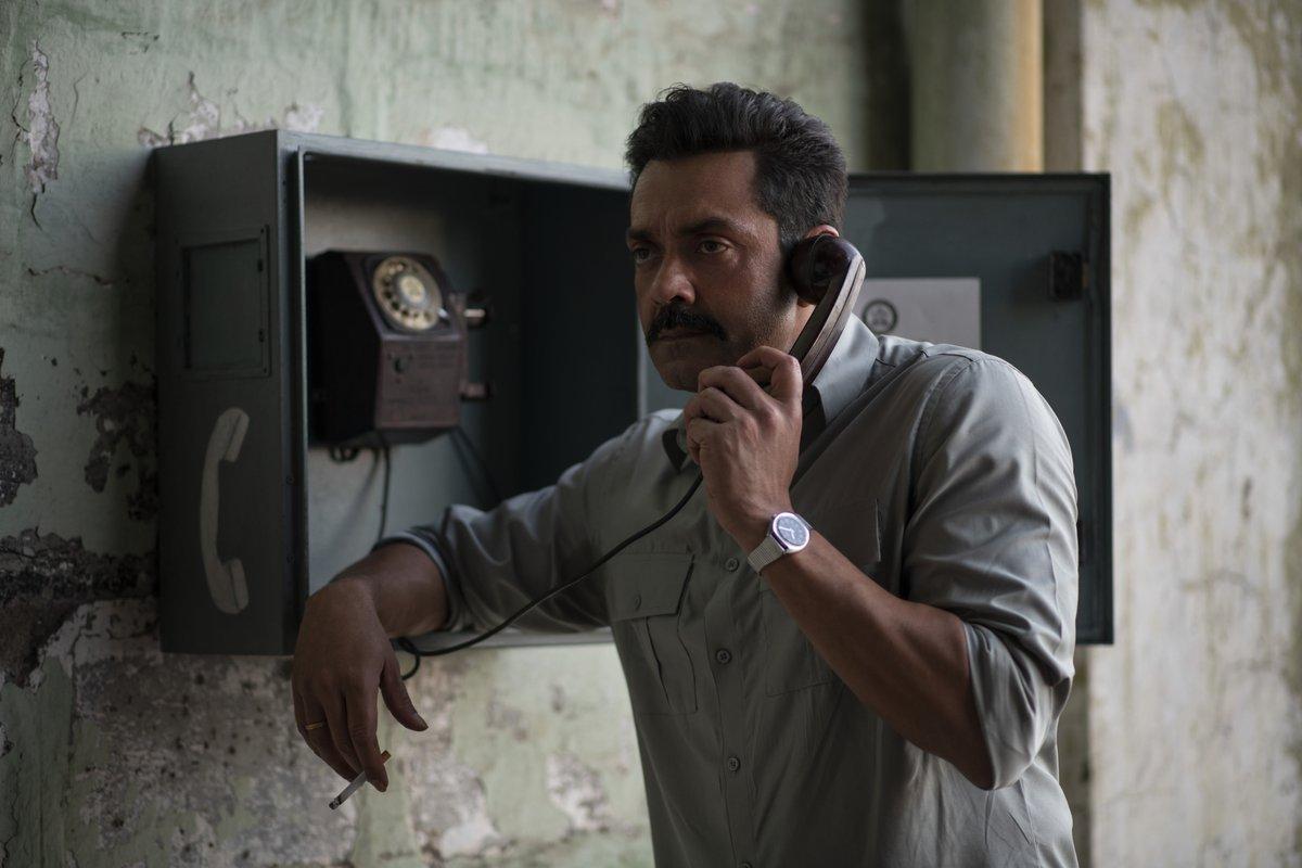 Dean Vijay Singh calling to tell you that he & his cadets are reaching your @NetflixIndia screens on 21st August. 📞💯  @thedeol @Hiteshbhojraj @itsbhupendraJ @ReelSameer  @Ninad_Mahajani @prithvikpratap   #ClassOf83