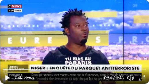 """#Niger, #Mali : """"Le regard africain c'est 'Il faut qu'ils [les Occidentaux] s'en aillent !'"""" #Rost"""