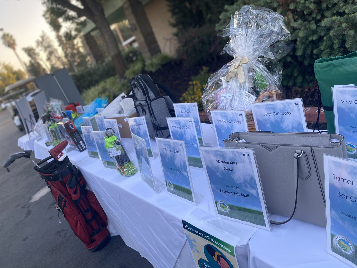 Our #GolfTournament yesterday went off without a hitch, thanks to our fabulous sponsors, players and volunteers - masked up and excited for the day! Huge shout out to @NobleCUFresno for sponsoring this year's Golf Ball Cannon!