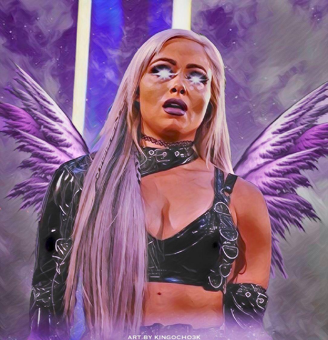Here's my latest artwork I made of @YaOnlyLivvOnce.I hope you guys like it.#WWE #fanart