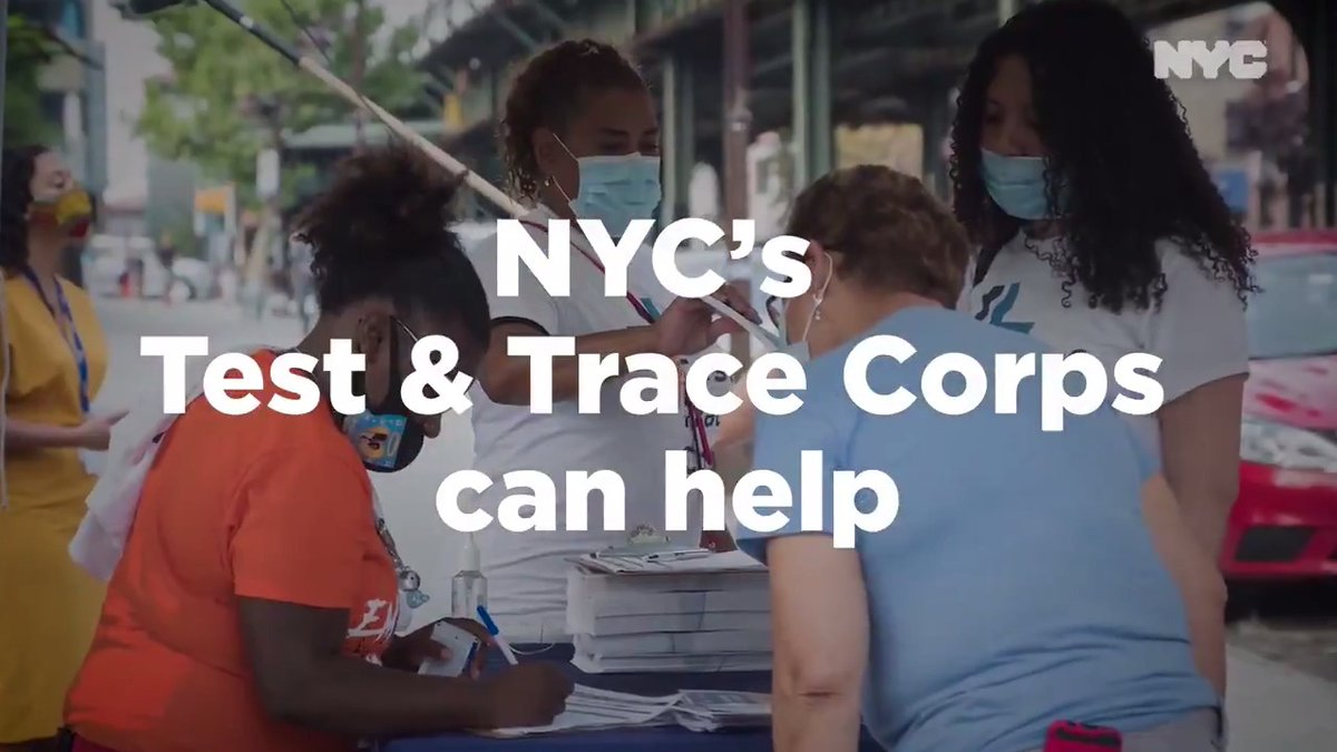 If you test positive for COVID-19, our Test & Trace Corps will make sure you have the support you need to recover and to keep your family safe.   More: