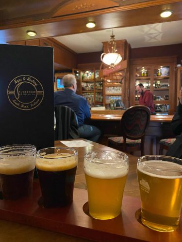 Craft beer and delicious food inside a historic mansion? You bet! @carrieste has the details on Studebaker Brewing Co. after a visit to The Bend.   ➡️   #OnlyinTheBend