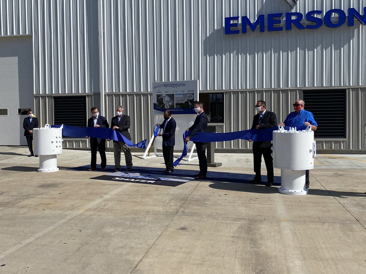 Yesterday we held a ribbon cutting for the recent expansion of @EMR_Automation in Ontario, Ohio. This project was supported by @JobsOhio @TeamNEO and @PUCOhio. It's bringing new jobs to Ohio and securing hundreds that already exist. Thanks to all involved! #RichlandCountystrong