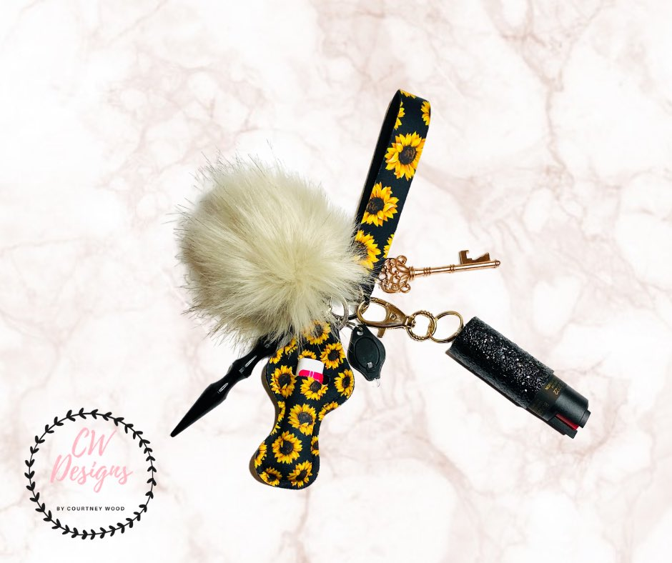 Check out these Stylish Self Defense Keychains!! As a Female Veteran Owned Business we strive to offer options for all to be able to protect yourself in style. Look at our website or more information!#VeteranOwnedBusiness   #SelfDefense #protection #stylish