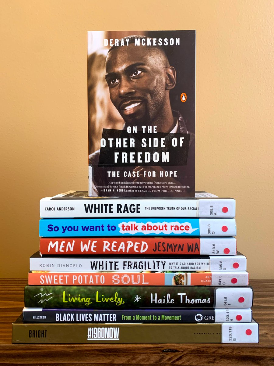 The #PiquaLibrary has some new books by #blackauthors and books that focus on #race, #racism, #civilrights + #blackhistory. We recommend you check out On the Other Side of Freedom: The Case for Hope by @deray. #BlackLivesMatter #LibrariesRespond #blackstories #blackwriters