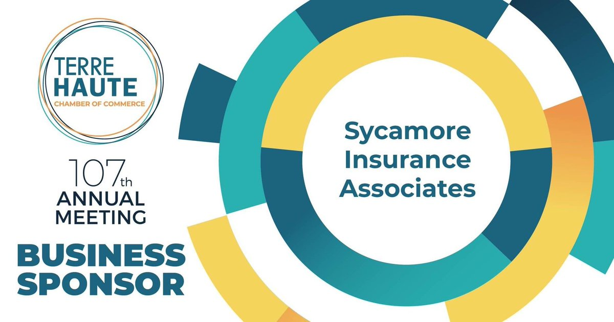 Watch the Virtual Chamber Annual Meeting, August 19 at 7:30pm on WTHI-TV! Special thanks to Sycamore Insurance for your support as a Business Sponsor. 📝 #ChamberAnnualMeeting #THAnnualMeeting #VirtualAnnualMeeting