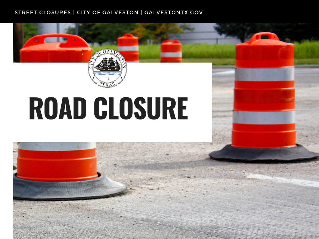 Beginning today through Friday, there will be an intersection closure as part of the 24-inch water line project serving the west end. From 7 a.m. to 6 p.m. on August 11-14,  there will be a road closure at the intersection of Victory and Avenue Q 1/2.