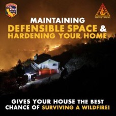 Don't let your guard down. We're in the heart of fire season, and although it's been a relatively mild one so far things can change quickly. Be sure to prepare your property as well as yourself and your family in the event a wildfire affects you. #CALFIRESHU2020