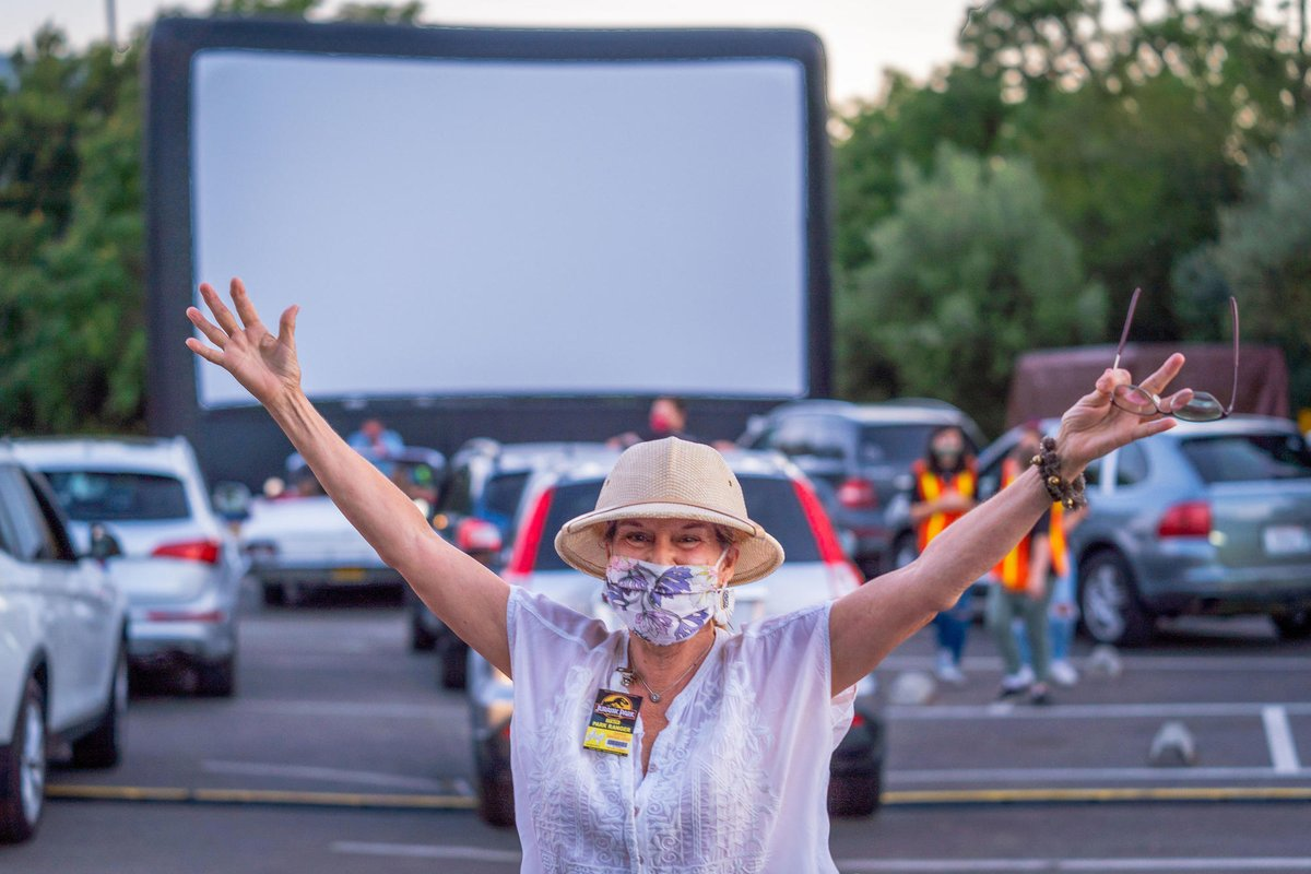 Summer isn't over yet, + neither is the Drive-In here in #StHelena! While current shows are sold out, stay tuned for more from @Cameo_Cinema + @GottsRoadside as they continue the seasonal flick fest w/safety, snacks, + storytelling top of mind!  #MyStHelena