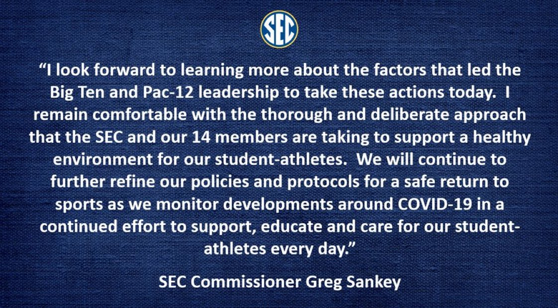 SEC makes a statement